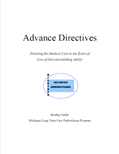 Image of Free Michigan Advance Directive Form