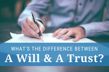 Downloadable Book describing differences between wills and trusts