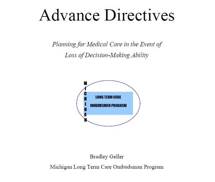 Downloadable free advanced directives