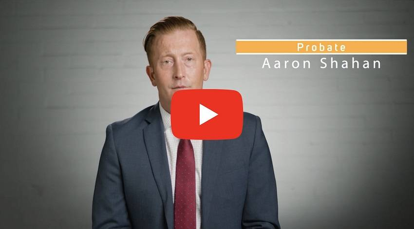 Link to youtube video for probate attorney